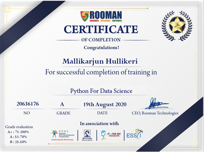Python for Data Science Online Certification