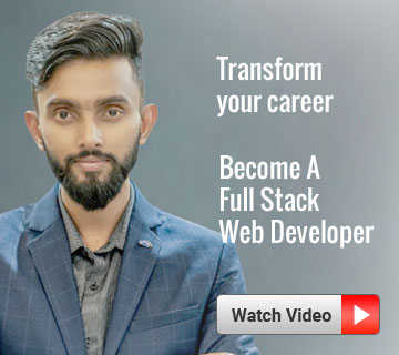 Transform your career. Become a Full Stack Web Developer
