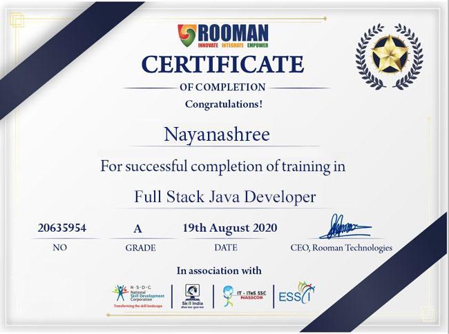 Full Stack Java Developer Course